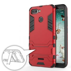 Carcasa Xiaomi Redmi 6 Cool Shield Rojo