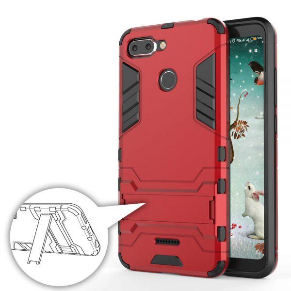 Carcasa Xiaomi Redmi 6 Cool Shield Rojo