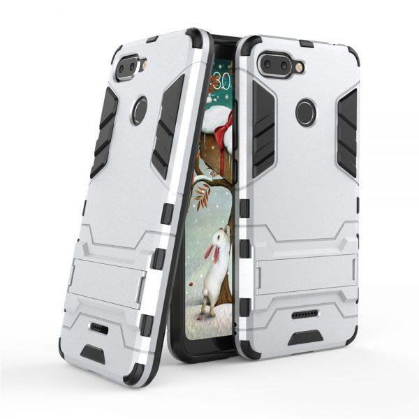 Funda Cool Shield Xiaomi Redmi 6 Plata