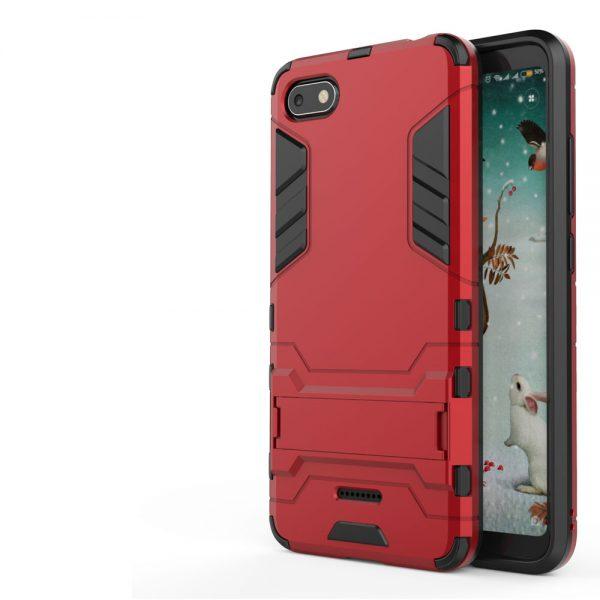 Carcasa Xiaomi Redmi 6A Cool Shield Rojo