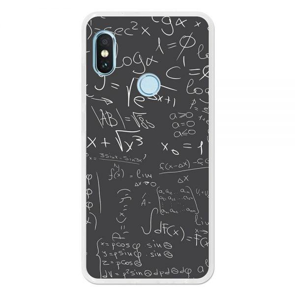 Funda Gel Xiaomi Redmi Note 5 Pro - Mi A2 Fórmulas Matemáticas