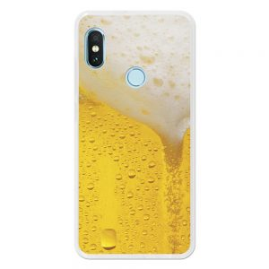 Funda Gel Xiaomi Redmi Note 5 Pro - Mi A2 Cerveza rubia
