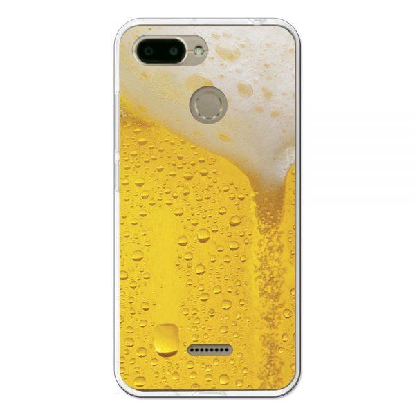 Funda Gel Xiaomi Redmi 6 Cerveza rubia