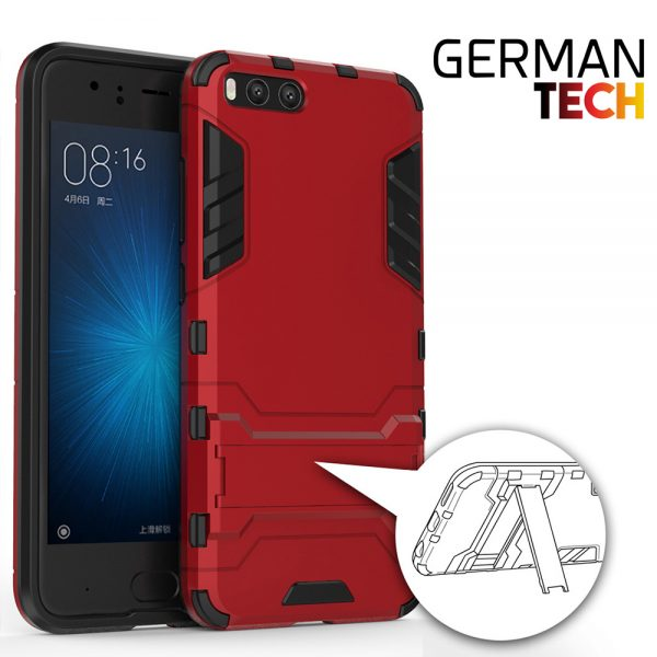 Carcasa Xiaomi Mi6 Cool Shield Roja