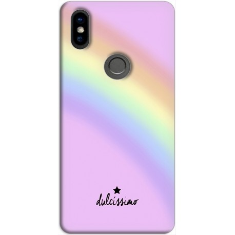 funda Xiaomi Redmi Note 5 GEL TPU Arcoiris ROSA