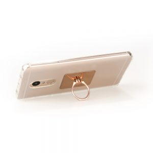 Soporte para movil rectangular rose gold2
