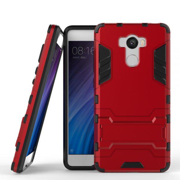 Carcasa Móvil Xiaomi Redmi 4 roja
