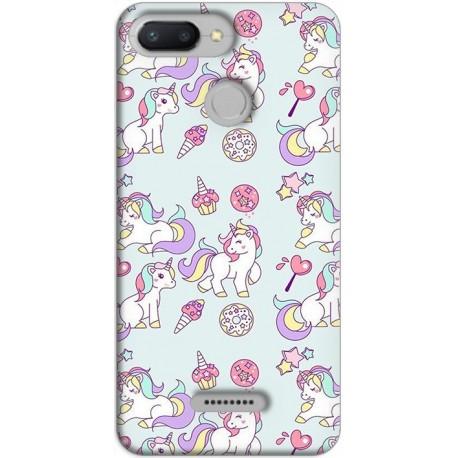 Funda Xiaomi Redmi 6 GelTPU fiesta Unicorn