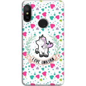 Funda Xiaomi Redmi Note 6 Pro GelTPU Unicorn Love