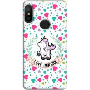 Funda Xiaomi Redmi Note 6 Pro GelTPU Unicorn Love