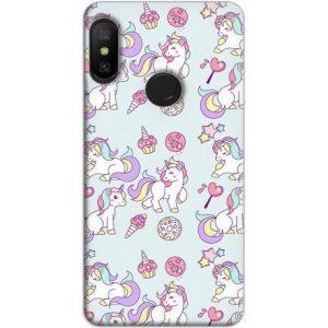 Funda Xiaomi Redmi Note 6-Pro GelTPU fiesta Unicorn