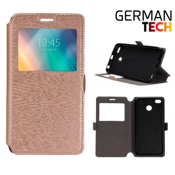 Funda libro Xiaomi Mi A2 German Tech DORADA