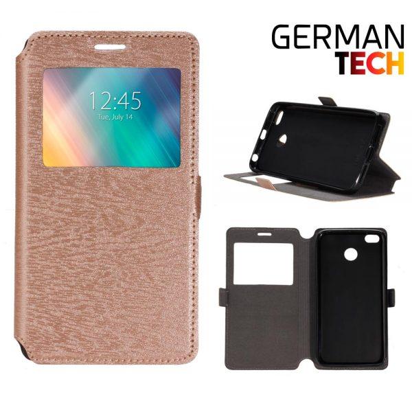 Funda libro Xiaomi Mi A2 German Tech DORADA